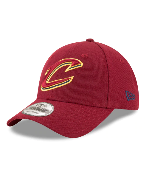 New Era Cleveland Cavaliers NBA The League 9FORTY Velcroback Hat Maroon 4ea2c62dd89