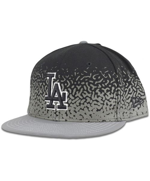 New Era Los Angeles Dodgers MLB Speckle Rise 9FIFTY Hat Black