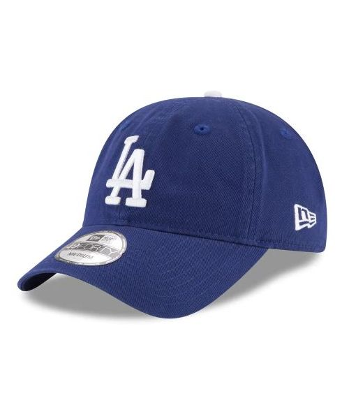 New Era Los Angeles Dodgers MLB Core Fit Rep 49FORTY Fitted Hat Royal Blue