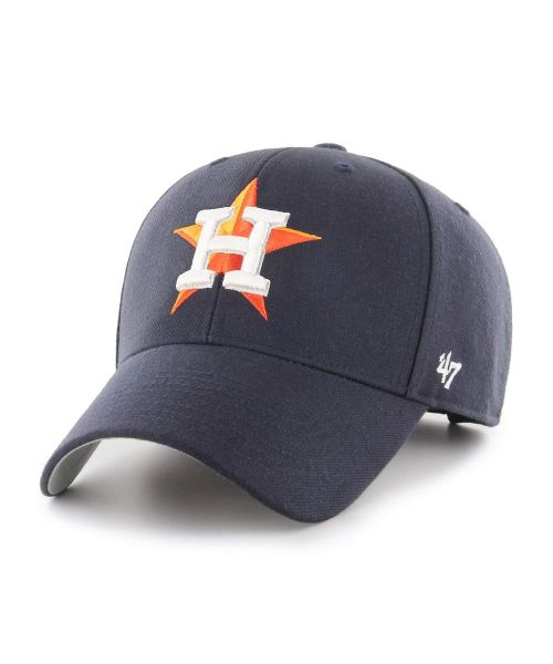 '47 Brand Houston Astros MLB MVP Adjustable Velcroback Hat Navy Blue