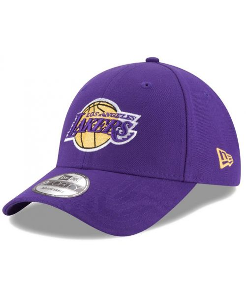 New Era Los Angeles Lakers NBA The League 9FORTY Velcroback Hat Purple c93e5164673