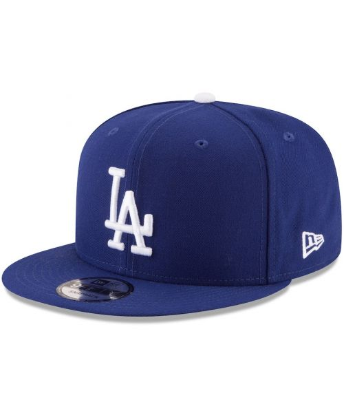 low priced 9622a 7f493 New Era Los Angeles Dodgers MLB League Basic 9FIFTY Snapback Hat Royal Blue