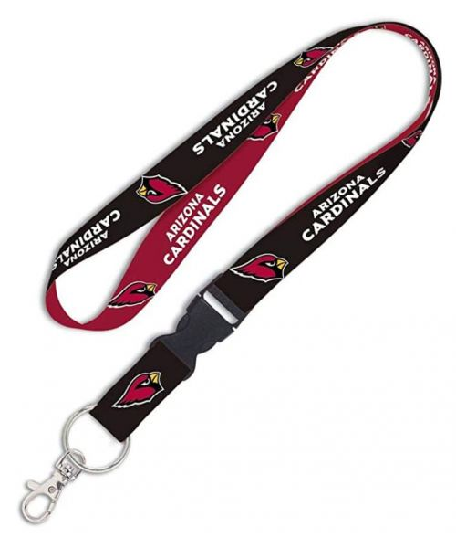 Wincraft Arizona Cardinals NFL One Size Lanyard with Detachable Buckle Navy Black Red