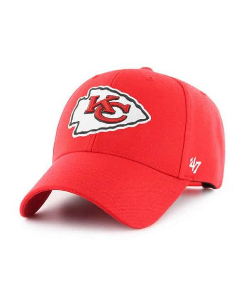 '47 Brand Kansas City Chiefs NFL MVP Adjustable Adult Hat Red