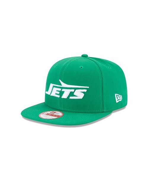 New Era New Yorks Jets Baycik 9FIFTY Adjustable Snapback Green Hat