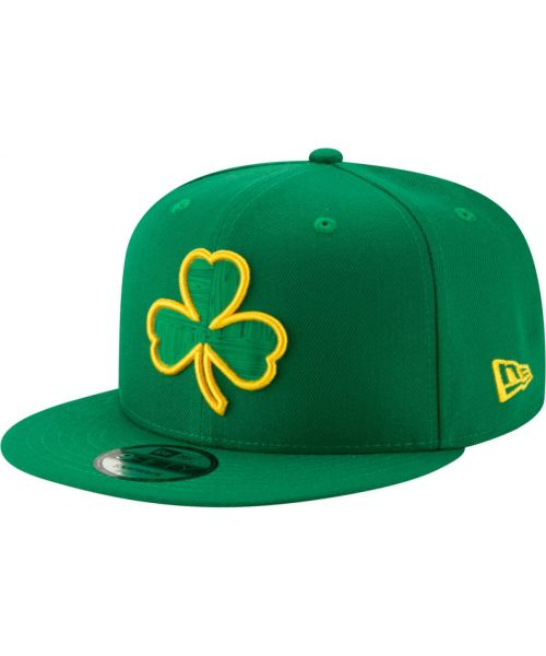 New Era Boston Celtics NBA City Series 2018 9FIFTY Snapback Hat Green