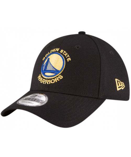 New Era Golden State Warriors NBA The League 9FORTY Velcroback Hat Black