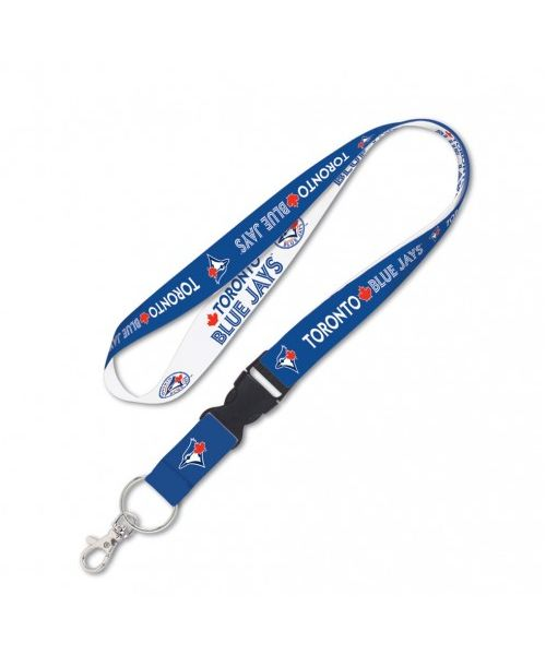 Wincraft Toronto Blue Jays MLB One Size Lanyard with Detachable Buckle Blue White