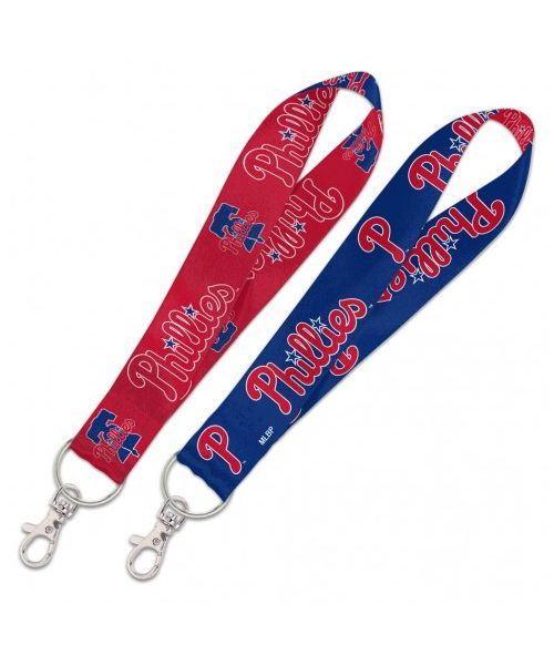 Wincraft Philadelphia Philles MLB Authentic Wristlet Keystrap Ring Blue Red