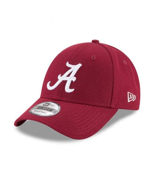 New Era Alabama Crimson Tide NCAA The League 9FORTY Velcroback Hat Maroon