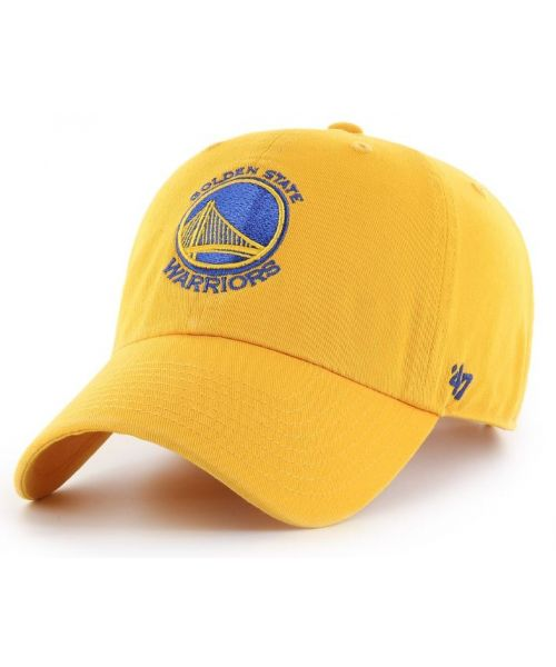'47 Brand Golden State Warriors NBA Clean Up Strapback Hat Yellow