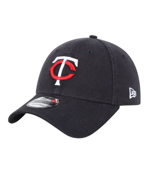 New Era Minnesota Twins MLB Core Classic 9TWENTY Adjustable Adult Hat Navy Blue