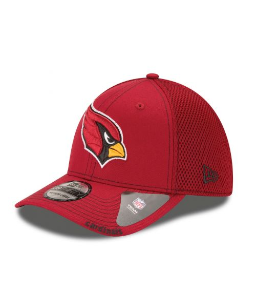 New Era Arizona Cardinals NFL Neo Team 39THIRTY Stretch Fit Hat Red