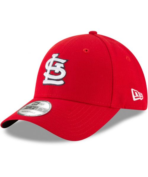 New Era St. Louis Cardinals MLB The League 9FORTY Velcroback Hat Red