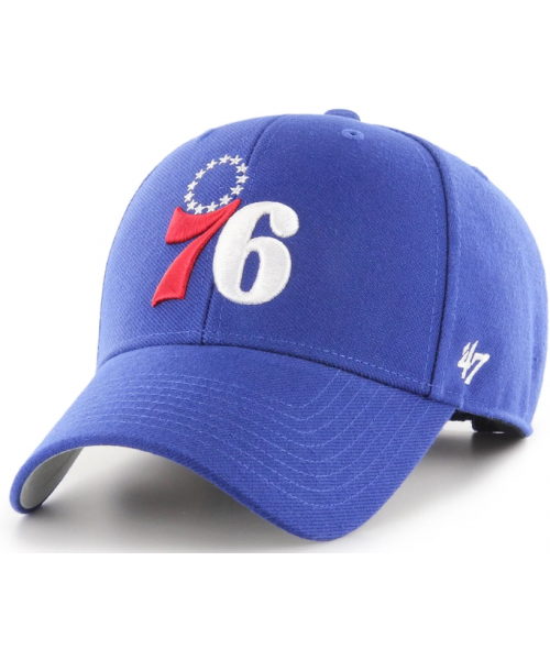 '47 Brand Philadelphia 76ers NBA MVP Adjustable Velcroback Hat Blue