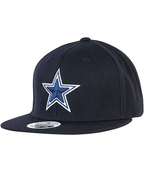 DCM Dallas Cowboys Basic Snapback Adjustable Hat Navy Blue