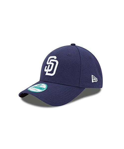New Era San Diego Padres Jr The League 9FORTY Youth Adjustable Velcroback Navy Hat