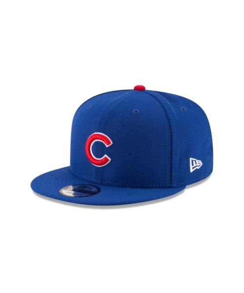 New Era Chicago Cubs MLB Official Team Colors Kids 9FIFTY Snapback Hat Blue
