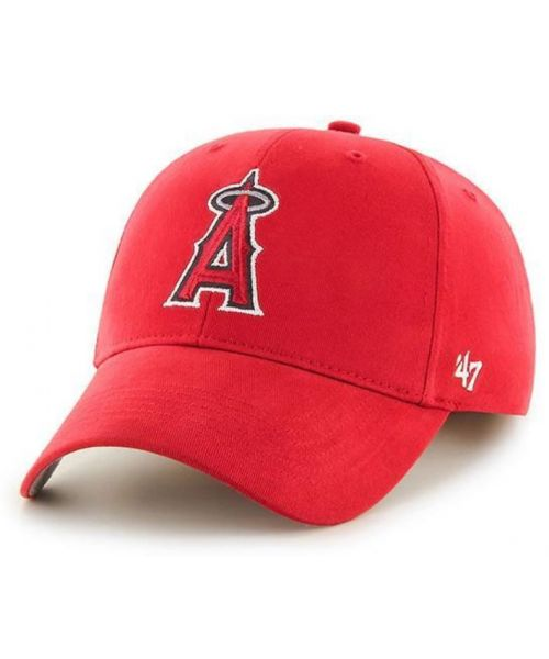 '47 Brand Los Angeles Angels MLB Basic MVP KIDS Velcroback Hat Red