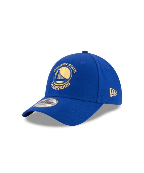 New Era Golden State Warriors The League 9FORTY Velcroback Adjustable Blue Hat
