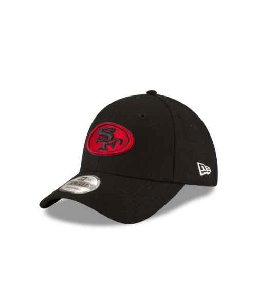 New Era San Francisco 49ers NFL The League Alternate 9FORTY Velcroback Hat Black