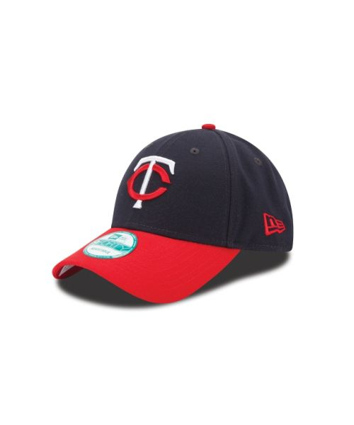 New Era Minnesota Twins The League 2TONE 9FORTY Velcroback Adjustable Navy Red Hat
