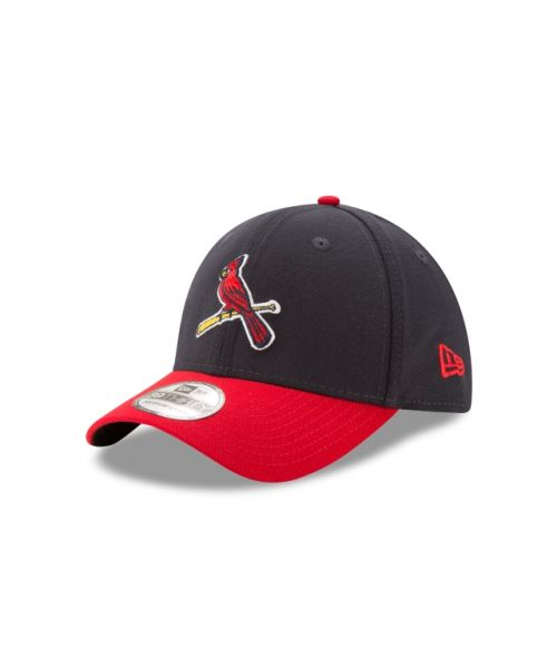 New Era St Louis Cardinals Team Classic 2TONE 39THIRTY Stretch Fit Navy Red Hat