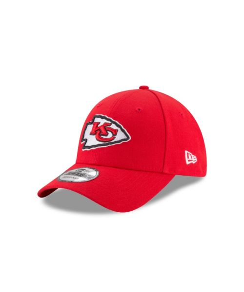 New Era Kansas City Chiefs NFL The League 9FORTY Velcroback Adult Hat Red