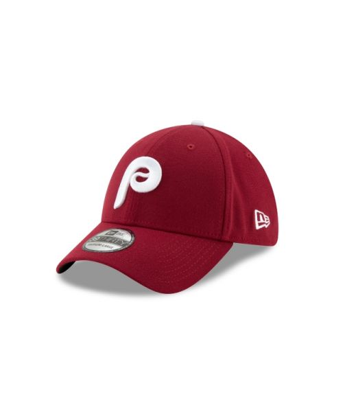 New Era Philadelphia Phillies Team Classic 39THIRTY Maroon Stretch Fit Hat