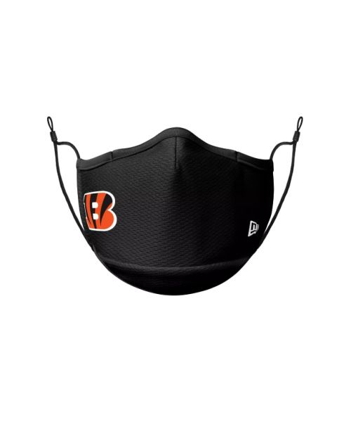 New Era Cincinnati Bengals Black NFL Sideline Face Mask