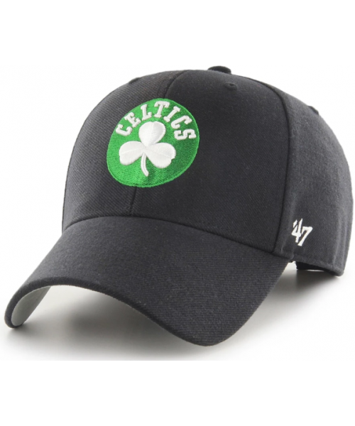 '47 Brand Boston Celtics NBA MVP Adjustable Velcroback Hat Black