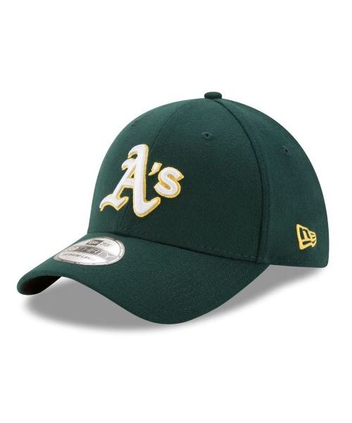 New Era Oakland Athletics MLB 39THIRTY Stretch Fit Adult Hat Green