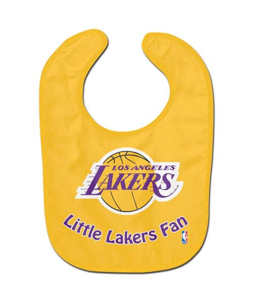 Wincraft Los Angeles Lakers NBA Authentic All Pro Baby Bib Yellow