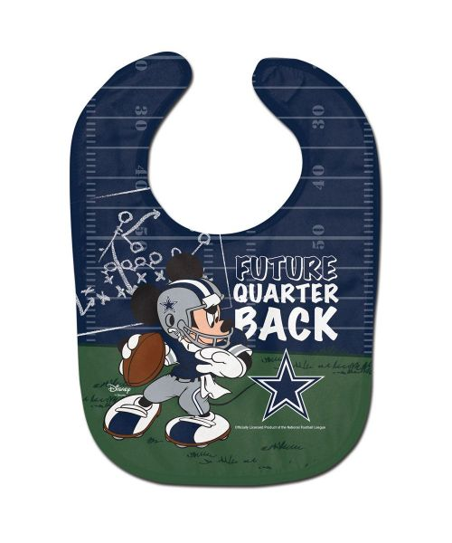 Wincraft Dallas Cowboys NFL Authentic All Pro Future Quarterback Baby Bib Blue Green