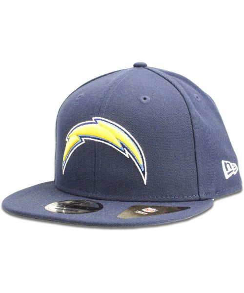 half off 7ad69 2bae9 New Era Los Angeles Chargers NFL Authentic League Baycik 9FIFTY Snapback  Hat Navy