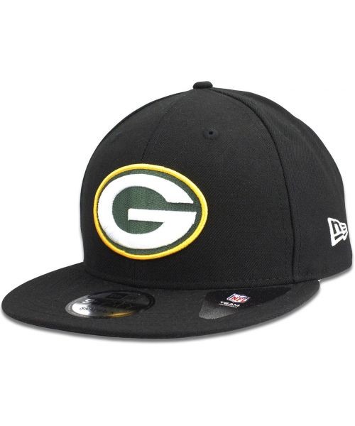 New Era Green Bay Packers NFL Authentic League Baycik 9FIFTY Snapback Hat  Black 55e7b4eb2