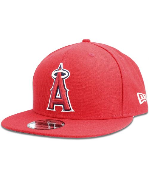 new product 6eb0c b3fcc New Era Los Angeles Angels MLB Authentic League Baycik 9FIFTY Snapback Hat  Red