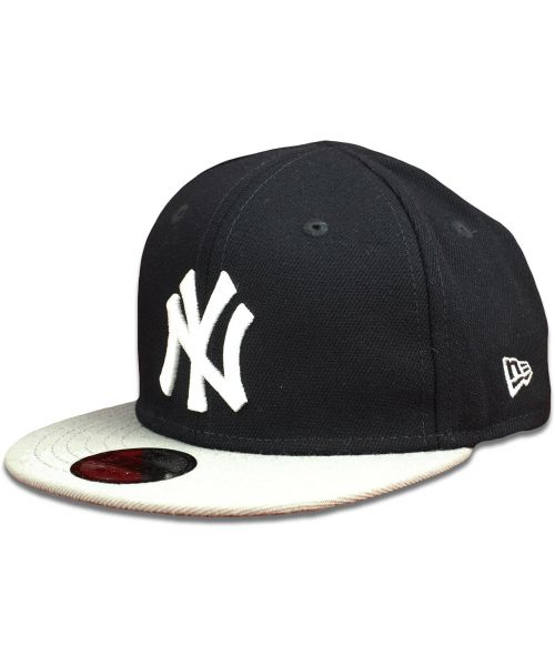 82f976398ff New Era New York Yankees MLB Authentic Collection My 1st Adjustable INFANT  9FIFTY Snapback Hat Navy Blue Grey