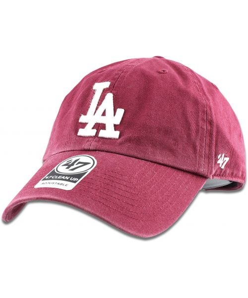 861bb0115d891  47 Brand Los Angeles Dodgers MLB Clean Up Strapback Hat Maroon