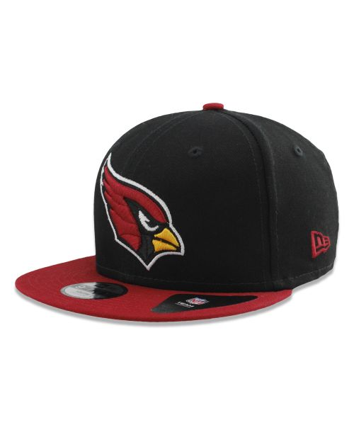 New Era Arizona Cardinals NFL Kid Baycik 9FIFTY Snapback YOUTH Hat Black Red