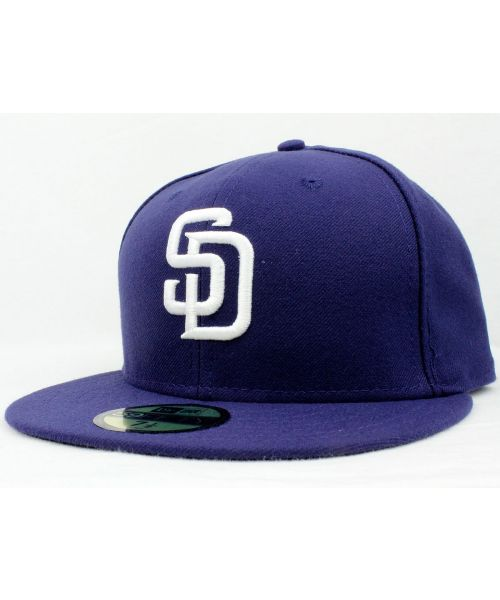 246d293dfdf New Era San Diego Padres MLB Authentic Collection AC Performance Official On  Field Alternate 2016 59FIFTY Fitted Hat Blue
