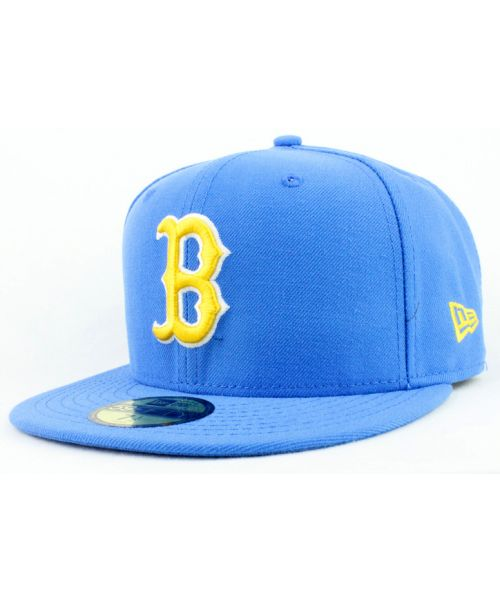486c1332ce3 New Era UCLA Bruins NCAA Authentic Basic 59FIFTY Fitted Hat Bruin Blue Cap