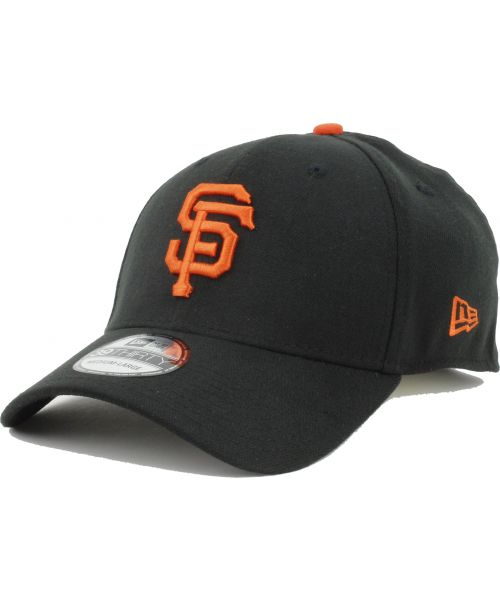 28d0fa73e New Era San Francisco Giants MLB The League 9FORTY Velcroback Hat Black