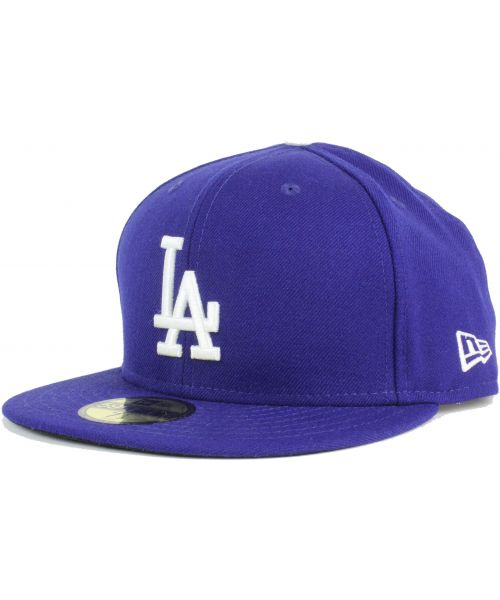 c365a54813a New Era Los Angeles Dodgers MLB Authentic Collection AC Performance  Official On Field GAME 59FIFTY Fitted Hat Royal Blue White Logo