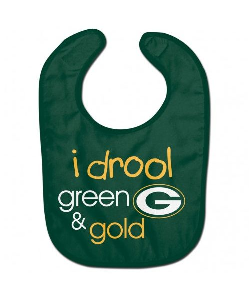 Wincraft Green Bay Packers NFL Authentic All Pro Baby Bib Green