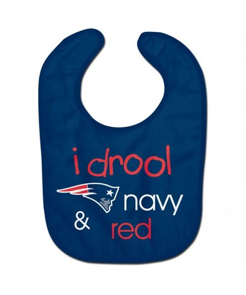 Wincraft New England Patriots NFL Authentic All Pro Baby Bib Navy Blue
