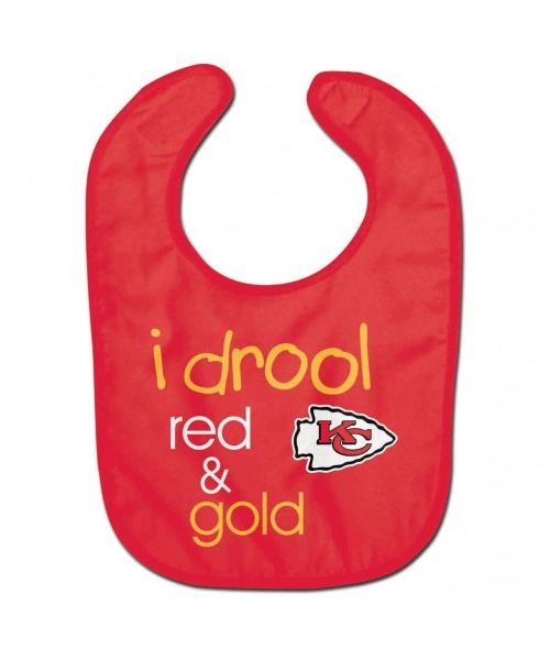 Wincraft Kansas City Chiefs NFL Authentic All Pro Baby Bib Red