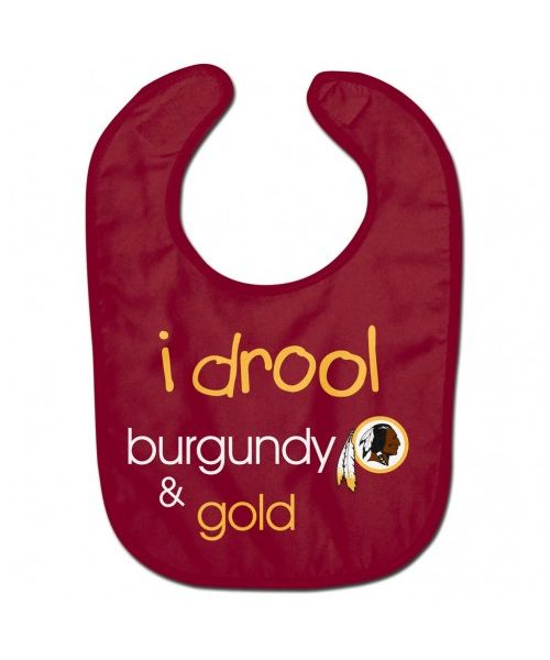 Wincraft Washington Redskins NFL Authentic All Pro Baby Bib Maroon