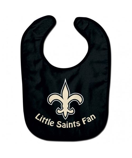 Wincraft New Orleans Saints NFL Authentic All Pro Baby Bib Black