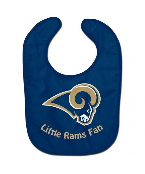 Wincraft Los Angeles Rams NFL Authentic All Pro Baby Bib Navy Blue